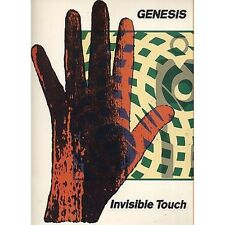 GENESIS - Invisible touch - LIBRO SPARTITO SHEET 1986 OTTIME CONDIZIONI