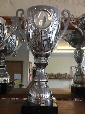 Large Silver Trophy - Free Engraving 35cm