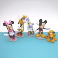 MICKEY MOUSE CLUBHOUSE FIGURES Disney Minnie Daisy Clarabelle Pluto Cake Toppers