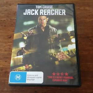 Jack Reacher DVD R4 Like New! FREE POST