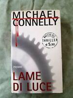 LIBRO BOOK LAME DI LUCE   MICHAEL CONNELLY Edizioni  PIEMME GAT2