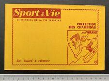 Buvard Sport & Vie / Jean Vuarnet / Ski / Blotter