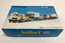 Road Transport Nuclear Waste KIBRI HO scale Eurotrain kit # 13524