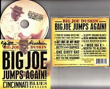 *SIGNED* Big Joe Duskin Jumps Again! Cincinnati Blues Session CD PETER FRAMPTON