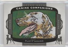 2018 Upper Deck Goodwin Champions Canine Companions Tier 2 Hound Plott #Cc153