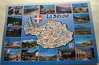 France La Savoie Map Multi-view EDY - posted 2015