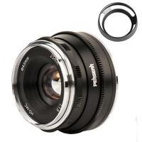 Pergear 25mm F1.8 Manual Focus Prime Lens for Olympus Panasonic M4/3 Cameras