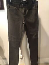 PREOWNED VINCE OLIVE GREEN SKINNY PANTS   Size 27! SHARWEI