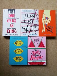 Collection of 5 Paperback Books. great teenage reads