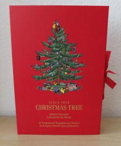 Advent Calendar Spode Christmas Tree New
