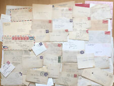 Box Lot of Vintage Letters Greeting Cards Personal Professional Correspondence