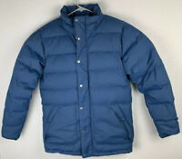 Marmot Mens Warm II Quilted Down Puffer Jacket Blue Size S Small NWT $225