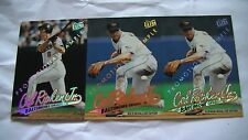 Lot de 3 cartes de baseball de Cal Ripken Jr. de 1996 promotion card!