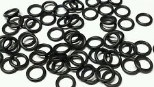 32 Black O-ring Tires Perfect For AJ's AFX Super II & Tyco Pro Front Hubs Wheels