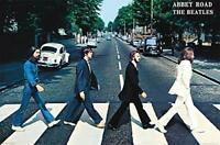 "Beatles Abbey Road Wall Poster, 36"" x 24"""