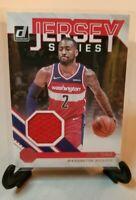 20-21 NBA Hoops Donruss Jersey Series Jersey Patch Card John Wall Wizards