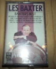 """LES BAXTER """"BAXTER'S BEST"""" CASSETTE 1964 capitol SEALED"""