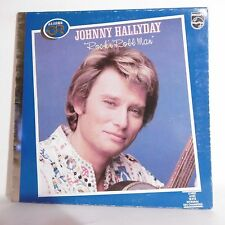 "33T Johnny HALLYDAY Disque OR LP 12"" ROCK 'N' ROLL MAN - PHILIPS 9120398 RARE"