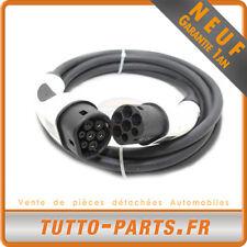 Câble Wallbox Borne Recharge Voiture électrique Type 2 - 5 mètres 16A