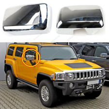 2006-2010 For Hummer H3 H3T ABS Chrome Side Rear View Mirror Cover Trim 2pcs