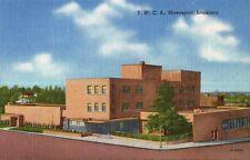 Postcard LA Louisiana Shreveport Y.W.C.A. YWCA Linen Unused MINT 1940s