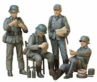 Tamiya 1/35 Military Miniature Series No.129 German infantry rest set plastic mo
