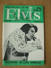 ELVIS PRESLEY MONTHLY MAGAZINE No 160
