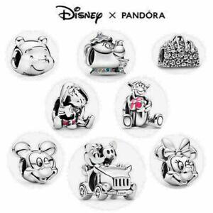 2021 New Genuine Silver Pandora Disney Charm ALE S925 & With Gift bag