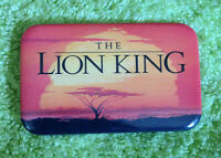 Walt Disney The Lion King Advertising Video Store or Theater Pinback Button