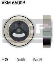 Tensioner Pulley Ribbed V-Belt V-Ribbed VKM 66009 AUX Guide Drive Timing Belt