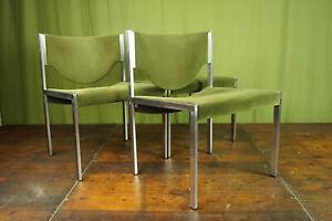 70er Vintage Chair Lounge Easy Chair Chrome Lübke Club Chair Space Age 1/3