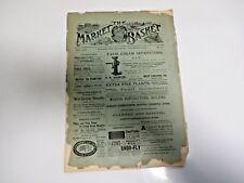 Rare-1897-THE MARKET BASKET MAGAZINE PHILADELPHIA-FOR FARMERS,TRUCKERS,ETC.