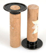 E.K. CO WOODEN TAKE UP SPOOL (1-13/16 INCHES LONG) SET OF 2