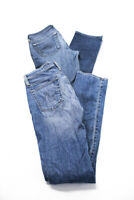 AG Adriano Goldschmied Womens Medium Wash Jeans Blue Cotton Size 26 Lot 2