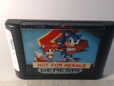 SONIC THE HEDGEHOG 2 Sega Genesis Scratched