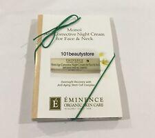 Eminence Monoi Age Corrective Night Cream For Face & Neck Sample Size 3ml x 6