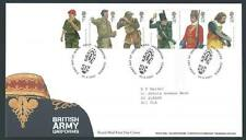 29132) UK - Great Britain 2007 FDC Army Uniforms 6v