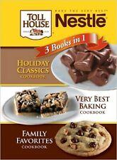 New listing Sale! Nestle 3 Books In 1 Cookbook (New)