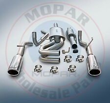 DODGE RAM 1500 5.7L MOPAR Cat-back Performance Exhaust System NEW OEM MOPAR