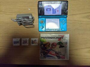 Nintendo 3DS Console - Mario Kart 7, Paper Mario and Super Smash Bros