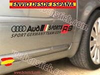 Kit Laterales Calcomanía Stickers Vinilos Pegatinas Coche Audi Sport RS