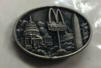 Ronald McDonald's Washington DC employee uniform pin badge