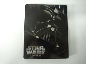 Star Wars IV A New Hope Blu Ray Steelbook
