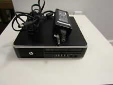 HP 8200 Elite Ultra-slim Intel I5 2400S 2.5ghz 4gb with a power supply No HD