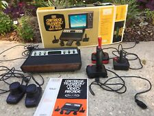Vintage Atari 2600 Console Sears Tele-Games System 3 Joysticks And Paddles & Box
