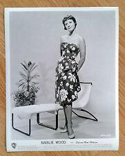 NATALIE WOOD rare vintage 1950s US 8x10 PIN UP FASHION publicity studio still 26