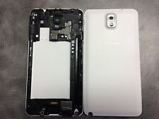 Genuine Samsung Galaxy Note 3 N9000 Middle Chassis and Battery Cover - White