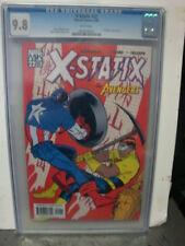 X-STATIX #22 cgc 9.8 Vs. THE AVENGERS Cap Iron Man Thor