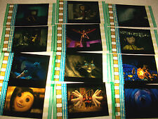 CORALINE Rare Lot of 100 Film Cells - Compliments movie dvd poster animation