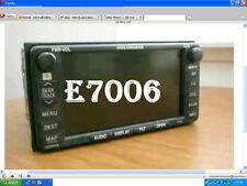 TOYOTA  2005 SIENNA GPS DVD NAV NAVIGATION RADIO CD JBL E7006  AM FM